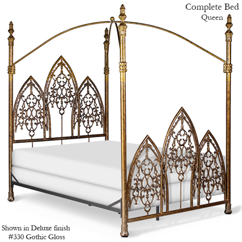 Standard Height Of Coffee Table Gothic Canopy Bed - Canopy Beds - Beds - Products
